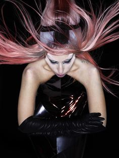 """Lady Gaga by Nick Knight for """"Born This Way"""" Photoshoot 2011"""