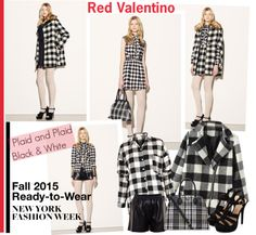 """""""NYFW Fall 2015 Ready-to-Wear Red Valentino"""" by helenevlacho ❤ liked on Polyvore"""