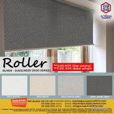 Other for sale, RM11 in Klang, Selangor, Malaysia. Roller Blinds - Make Your Impression With Stylish Window   A Perfect Addition To Your Home. Roller