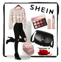 """""""shein"""" by jasmina1-1 ❤ liked on Polyvore featuring Sephora Collection and Maybelline"""