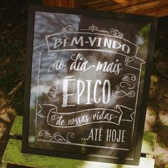 Sugestão de quadro com frase para dar ainda mais charme ao décor do seu grande dia! Foto: Danilo Siqueira. #noivos #casar #ambientesnoivasefestas #inspiracao #ceara #quadrodefrases #casar2017 #noivinhasceara