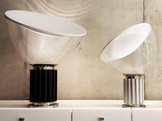 Flos Taccia Small Table Lamp by Achille & Pier Giacomo Castiglioni - Chaplins