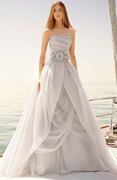 Naked lace, dresses with embellished backs, fashion-forward crop tops and so much more. Hot New Wedding Dress Trends for Spring season.