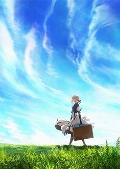 Violet Evergarden Anime Visual
