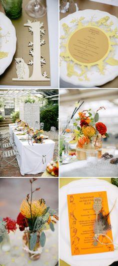 Herbstlicher Hochzeitsworkshop mit Carmen und Ingo Photography und Die exklusiven Einladungskarten