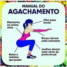 Manual do #agachamento !