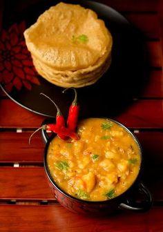 Poori Masala Recipe, How to make Aloo Poori Masala Recipe | Potato Poori Masala