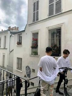 """Jimin in Paris omggggg (is that with him a friend or manager?) Bts members having solo trips i'm loving it. First Hobi now him"" Bae, Bts Twt, Prince Eric, Bts Pictures, Paris Travel, Bts Boys, Jikook, Boyfriend Material, Bts Jimin"