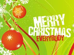 Merry Christmas everybody Vector Graphic Merry Christmas Frame, Christmas Images Free, Merry Christmas Everybody, Merry Christmas Pictures, Merry Christmas Wallpaper, Grinch Stole Christmas, Christmas Music, Christmas Greeting Cards, Christmas And New Year