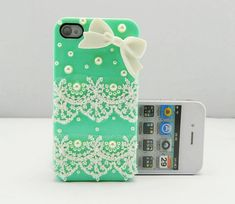 iPhone+4S+Cases+For+Girls | Lace Cute iPhone 4S Cases For Girls - iPhone Cases - Cute: