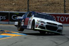 Dale Earnhardt Jr. at Sonoma