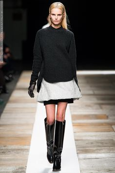 Theyskens Theory collection (Fall 2013, New York Fashion Week) -1