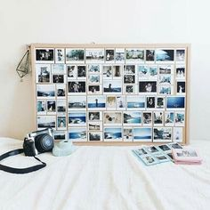 New wall photos polaroid display ideas 63 IdeasYou can find Polaroid and more on our website.New wall photos polaroid display ideas 63 Ideas Ideas For Room Decoration, Decoration Tumblr, Room Ideas, Instax Wide 300, Fujifilm Instax Wide, Instax 210, Polaroid Foto, Polaroid Wall, Polaroid Collage