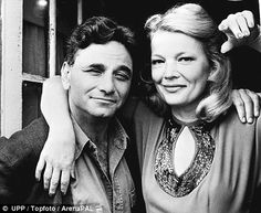 Flashback: Peter Falk, pictured with actress Gena Rowlands in the film 'The Brinks Job' Old Film Stars, Movie Stars, Columbo Peter Falk, Gena Rowlands, John Cassavetes, Cinema, Black N White Images, Interesting Faces, Film Director