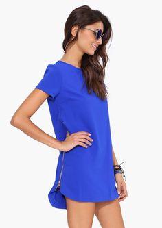 Stunning blue dress