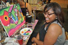 Kids Painting Session Atlanta