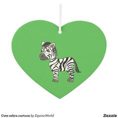 Cute zebra cartoon
