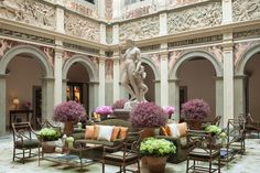 Florence Hotels, Florence Italy, Beautiful Hotels, Beautiful Places, Weekend City Breaks, Classical Interior Design, Vienna Hotel, 1 Gif, Great Hotel