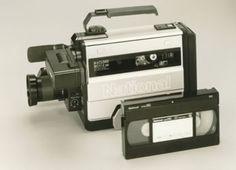 1985 Panasonic  VHS camcorder, NV-M1