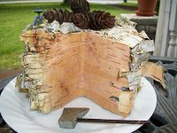 Home Living: Homestead Craft - Woodsy Fake Cake