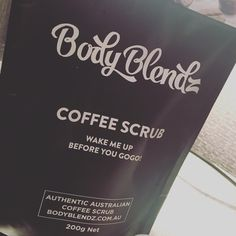 ninaalizadeh: In love with my new @body_blendz coffee scrub! Skin feels amazing!  #BodyBlendz #allnatural #coffeescrub #getsmooth #skincare #exfoliate #hydrate #firm