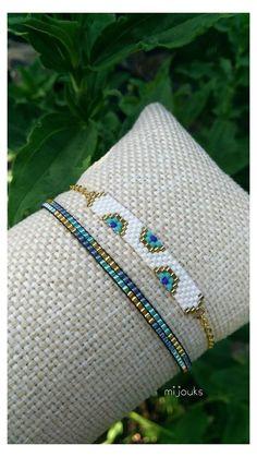 Dainty Bracelets, Dainty Jewelry, Handmade Bracelets, Handmade Jewelry, Beaded Bracelets, Jewelry Accessories, Embroidery Bracelets, Silver Jewelry, Modern Jewelry