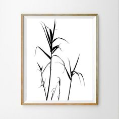 Contemporary wall art décor Nature wall print by DaphnaPrintables