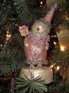 "Pink Snowman!!! Bebe'!!! Love celebrating a ""Pink Christmas"" !!!"