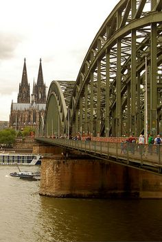 One day in Cologne, Germany: the Hohenzollern Bridge, Belgian Quarter, and more.
