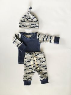 baby boy outfit newborn outfit take home by LittleBeansBabyShop