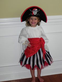 Custom made Pirate Costume. 5T to size 10 by CostumeKids on Etsy, $125.00