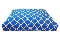 Cute Blue Dog Bed