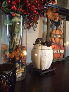 Lovin' Lumina! Beautiful #Scentsy warmer to add to your #Harvest Collection :) #falldecor #Thanksgiving #Fall