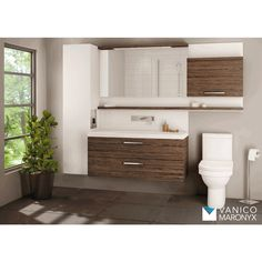 The Duo Vanity is available at Preston Bathroom + Kitchen Design Centre in Ottawa. Contact or come see us today to learn more. Diy Bathroom Decor, Bathroom Renos, Bathroom Colors, Bathroom Renovations, Bathroom Furniture, Bathroom Interior, Modern Bathroom, Basement Bathroom, Wood Bathroom