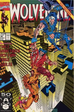 Marc Silvestri cover Wolverine #42