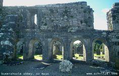 Burrishoole Abbey, Co Mayo, Ireland  1470 apx