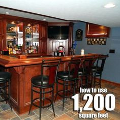 Basement remodel idea.  This is a really nice and spacious looking remodel for 1200 square feet