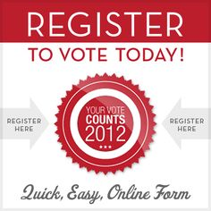 **Today (Oct. 9) is the last day to register to vote in CO, FL, OH, PA, MI, NM, IL, IN, TX, AZ, GA, KY, & LA.  Make sure you're registered!  //  CatholicVote.org