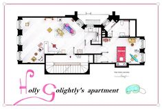 Apartamento de Holly Golightlty's (Desayuno con diamantes)