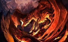 Fantasia - Dragão Papéis de Parede e Planos de Fundo