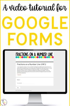 Google Forms are so easy to use in the classroom! This video tutorial for teachers walks you through how to use Google Forms and using the quiz feature for self-grading independent work, assessments, and online practice. You can also design your Form as a survey or data collection tool. Whether you're using it with elementary students or high schoolers, you can customize it to meet your needs.
