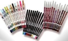 These pencils are made with non-irritative material and offer 12 colour combinations for a wide range of make-up styles
