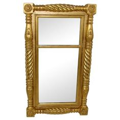 Check out this item at One Kings Lane! English Pier Mirror
