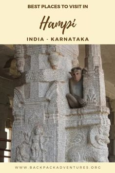 Backpacking India: A backpackers travel guide with a Hampi itinerary including the best places to visit if you have 3 days in Hampi. India Travel Guide, Asia Travel, Tahiti, Hampi India, Karnataka, Backpacking India, Visit India, Luxury Travel, Travel Inspiration
