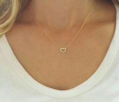 simple and delicate necklace:)))