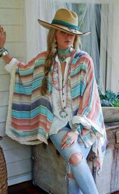 Butterfly top by tasha polizzi - adare's boutique my style стиль бохо, Cowgirl Chic, Cowgirl Mode, Estilo Cowgirl, Estilo Hippie, Western Chic, Cowgirl Style, Western Vest, Plus Size Cowgirl, Mode Hippie