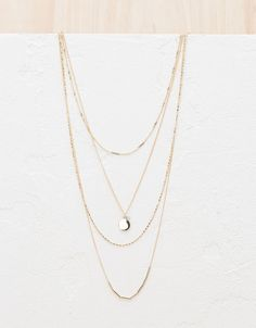 Necklaces - Jewellery - Accessories - NEW COLLECTION - WOMAN - Bershka Egypt