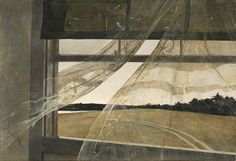 Wind from the Sea, 1947 - Andrew Wyeth. Professional Artist is the foremost business magazine for visual artists. Visit ProfessionalArtistMag.com.- www.professionalartistmag.com