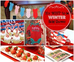 Xmaspost6 Baby Shower Ideas Pinterest Christmas baby shower