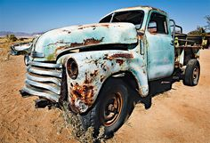 Photograph Namibia - Wrecked car in Solitaire #2 by Fabrizio Fenoglio on 500px